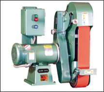 These two wheel grinders provides vigorous contact wheel, workrest, and platen grinding