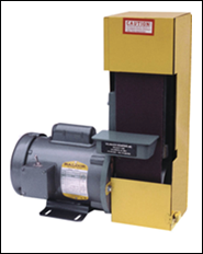 All-purpose 1/2 HP belt sander for wood, metal and plastics.